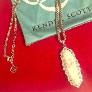 Kendra Scott Howlite Francis Necklace